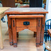 Hardwood nest of tables