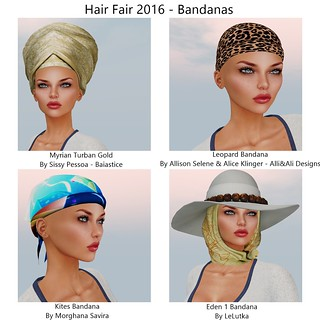 Hair Fair 2016 - Bandanas - 2 | by `*•.¸Whimsy¸.•*´