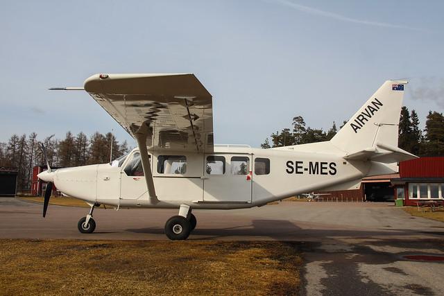 SE-MES Gippsland GA-8 Airvan, Västerås/Johannisberg ESSX
