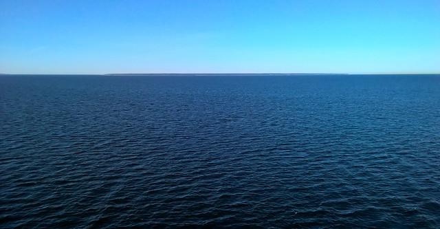 The Naissaar Island, Gulf of Tallinn at Estonia