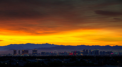 sunrise landscape sunset las vegas nevada city cityscape mountain silhouette lasvegas lasvegasnevada red rock casino resort hdr beautiful