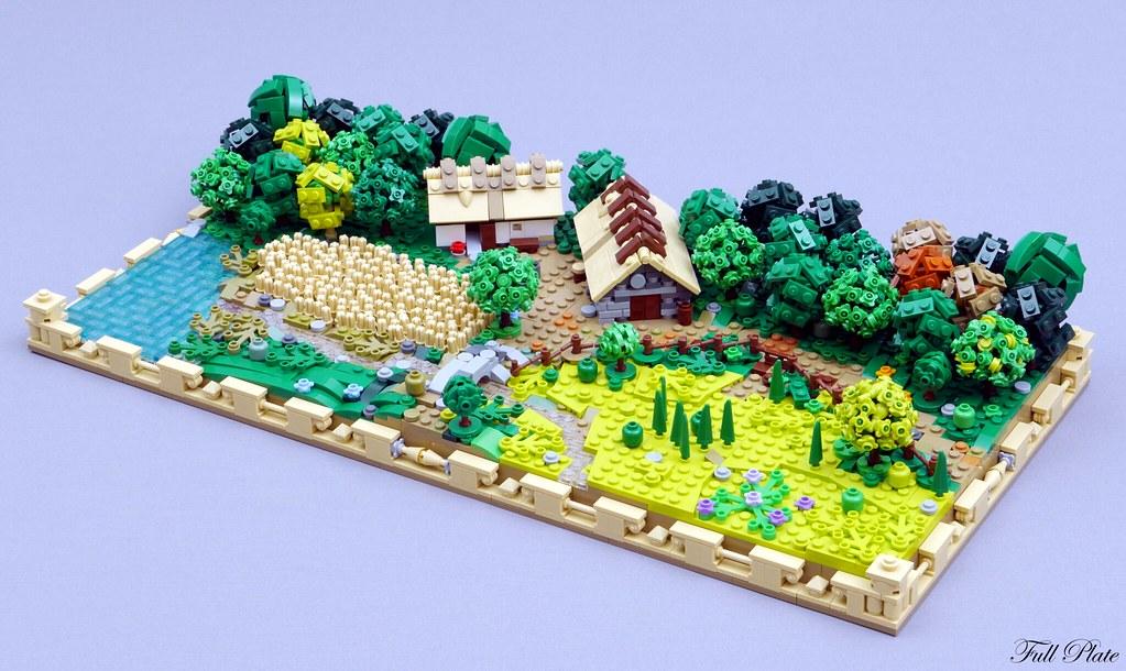 Full Plate - Rural Landscape