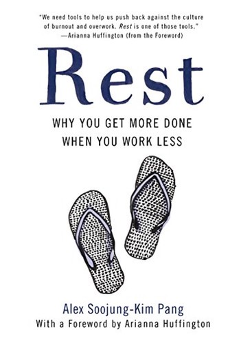 The final cover of the US paperback of REST, out June 12.