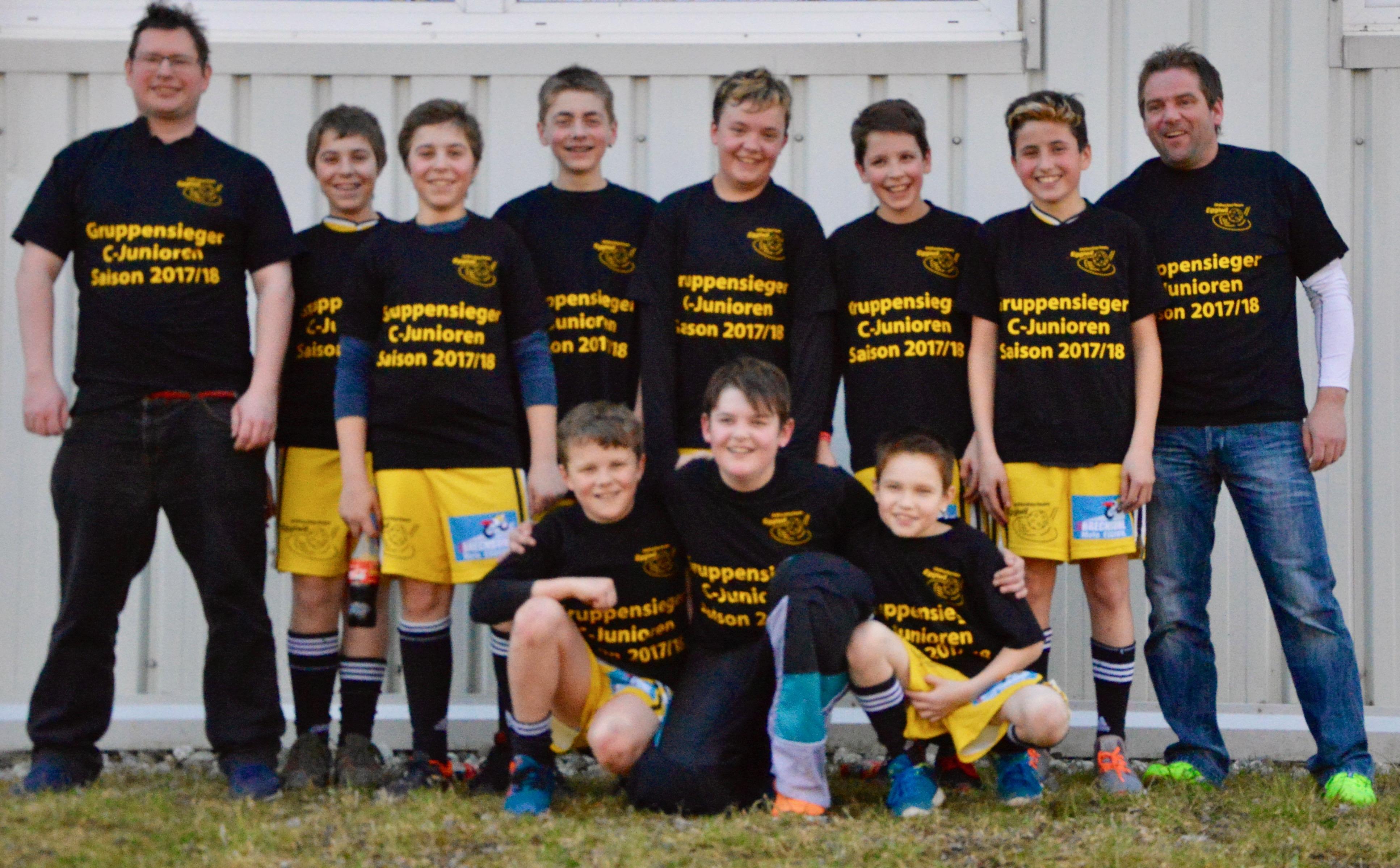 Junioren C - Gruppensieg Saison 2017/18