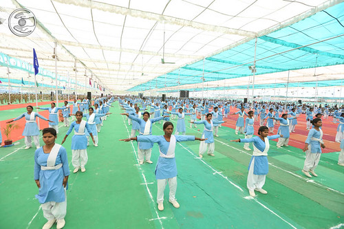 Physical Exercise by Sewa Dal Volunteers