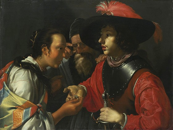 Simon Peter Tilmann, Die Wahrsagerin - The Fortune Teller