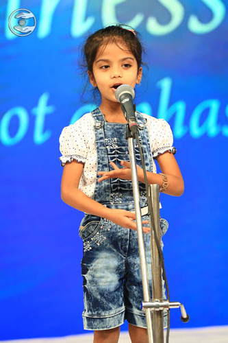 Baby Sikha Harijan from Dibrugarh, expresses her views