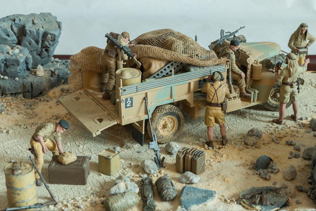 Long Range Desert Group Lrdg Tamiya 1 35 Scale Model Flickr