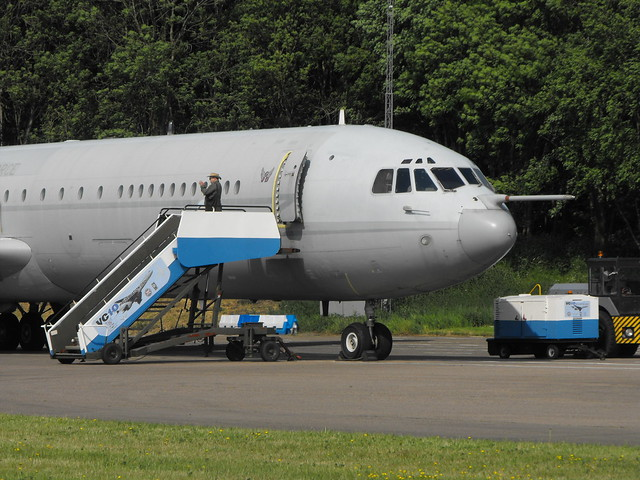 Vickers VC-10 - ZD 241 @ Bruntingthopre, May 2018