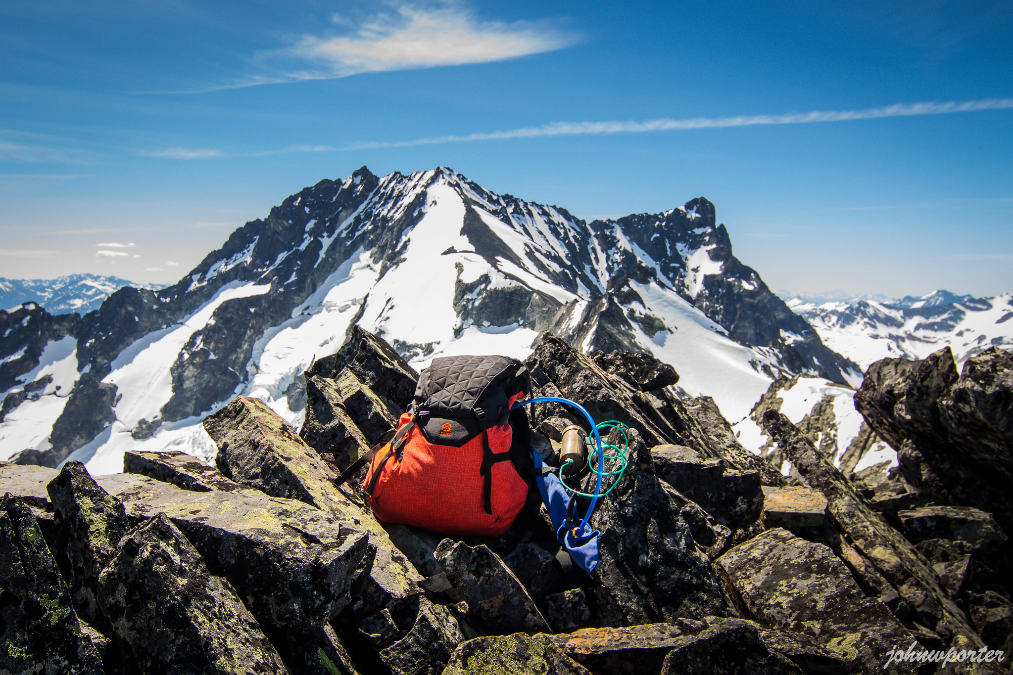 Summit bliss on Dark Peak