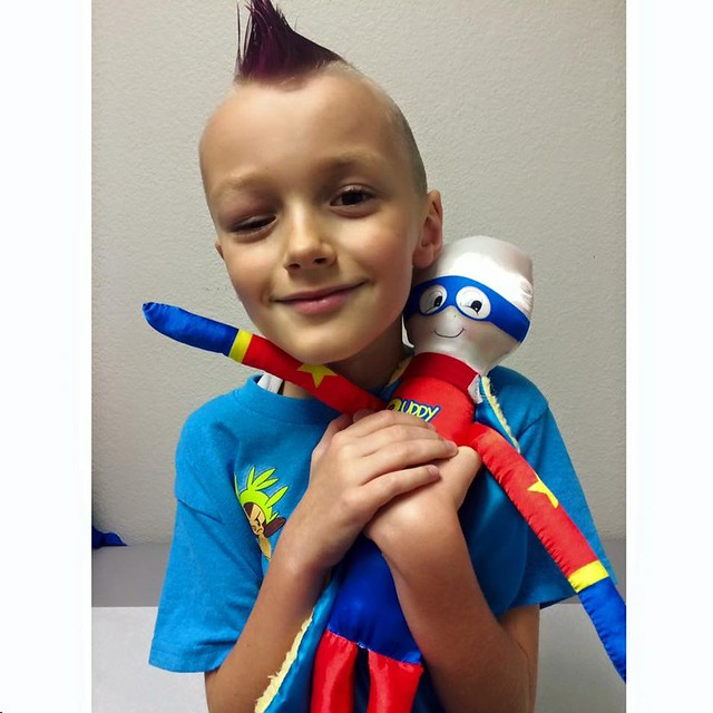 Meet Buddy Brave, super hero doll and Mr. Vinny our handsome Super Hero!