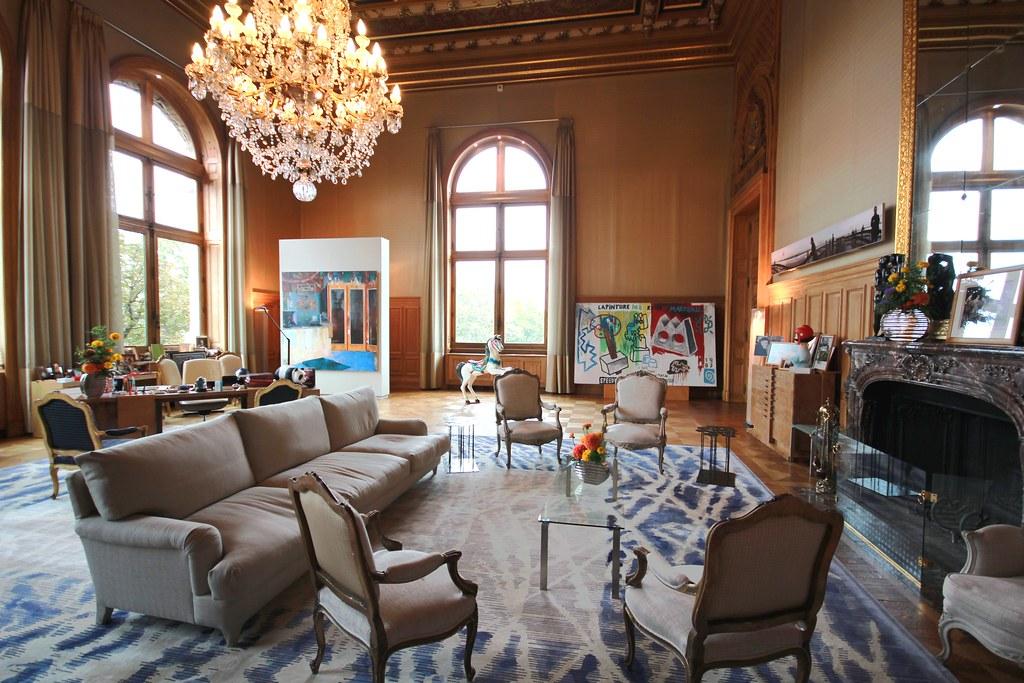 Journées du patrimoine - Hôtel de ville de Paris - Bureau de Anne Hidalgo