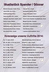 Unterhaltungskonzert 12.04.2014 im Pfarreizentrum Horw