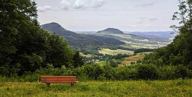 view to Stuifen/ Rechberg