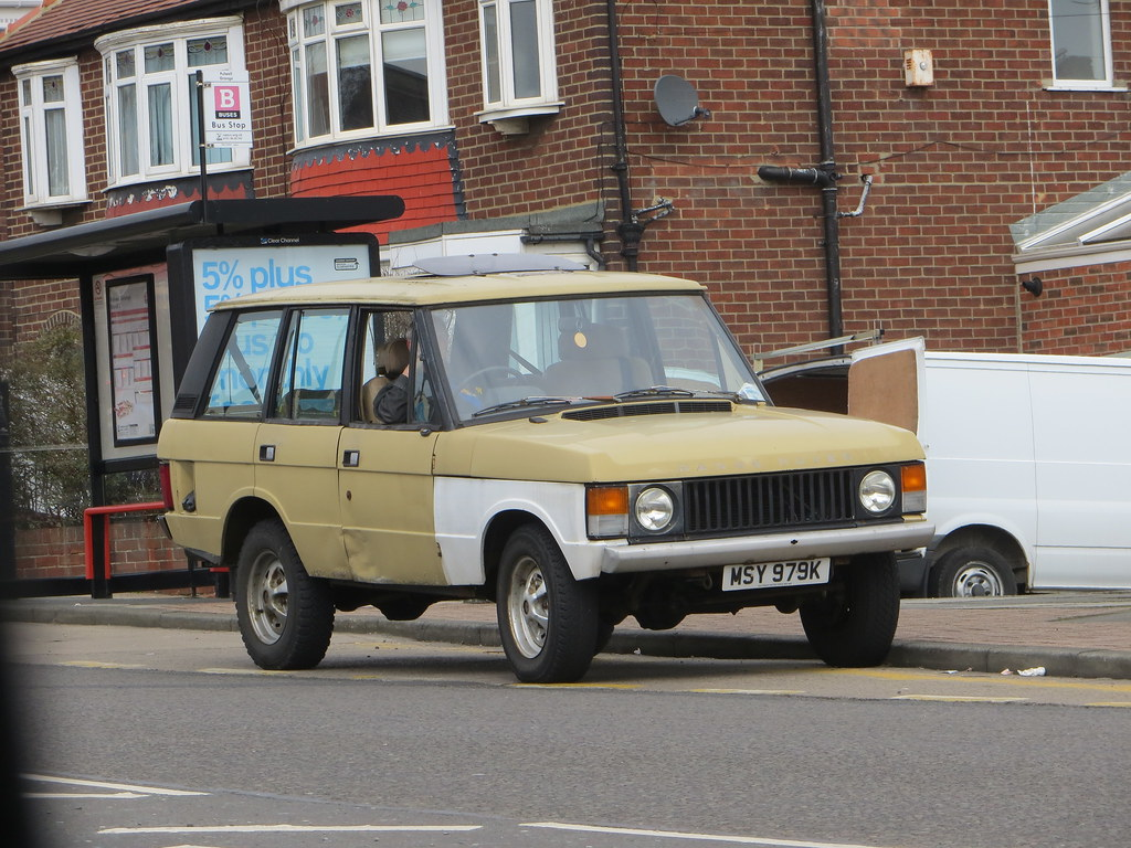 1971 Range Rover V8 | One of those strange body-swap jobs  | Alan