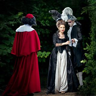 Premiére rancontre entre Milady de Winter et le cardinal de Richelieu