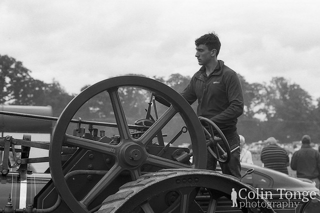 Driving a Traction Engine