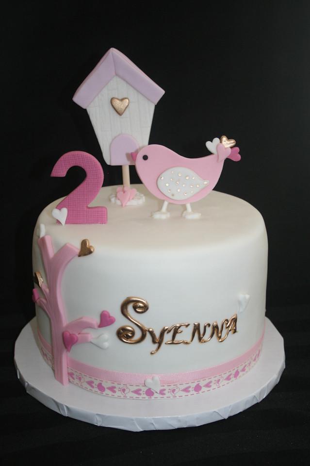 Incredible Bird Birthday Cake Alicia Bryson Flickr Funny Birthday Cards Online Alyptdamsfinfo