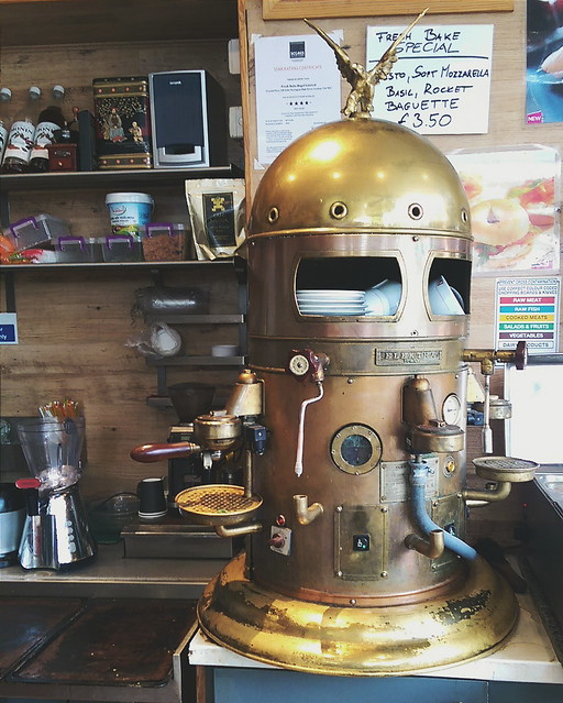 Old School Coffee Machine