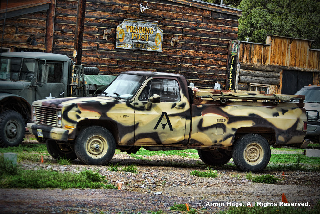 Chevy CUCV M1008 Military Truck | © Armin Hage  All Rights R