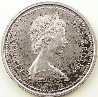 Coin photography - 1973 Canada silver dollar