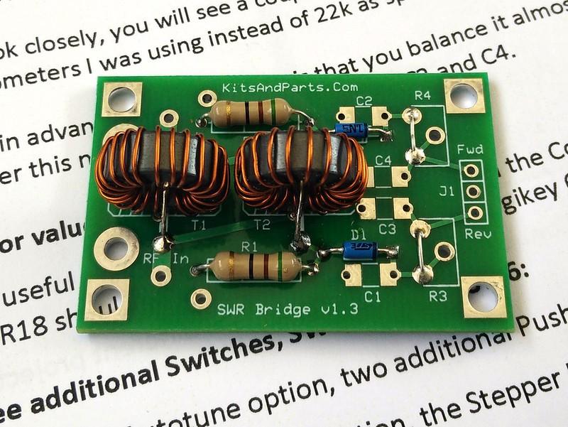 Automatic Magnetic Loop Tuner – SWR Bridge – Golb – ON5IA