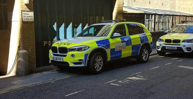 City of London Police. BMW X5, LJ16 FNK