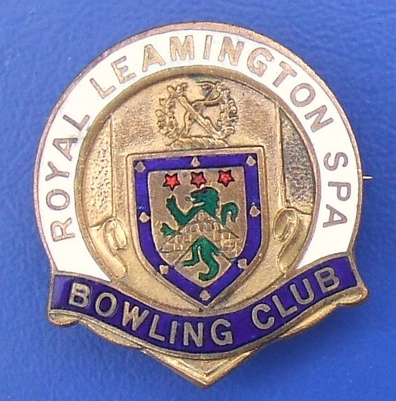 Royal Leamington Spa Bowling Club - member's badge (1970's… | Flickr
