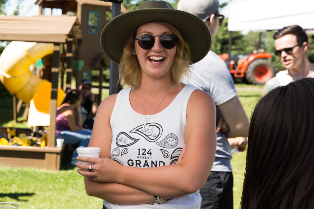 Kirsta Franke, founder of 124 Grand Market, in July 2016. Photo by Mack Male.