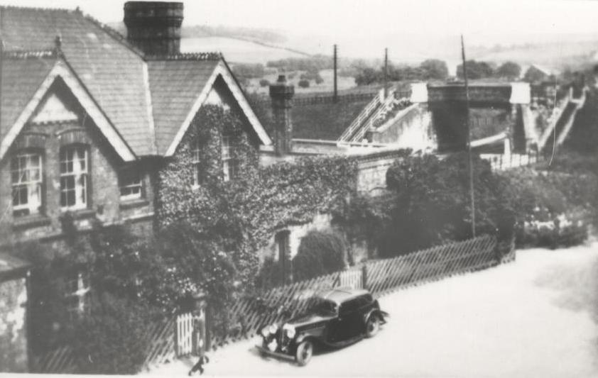 South Cave Railway Station 1938 (archive ref DDEY-1-184)