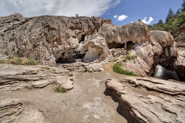 Soda Dam, Sante Fe National Forest, Sandoval County, New Mexico
