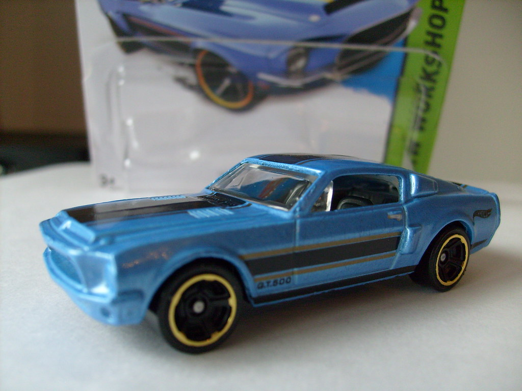Hot wheels 1968 ford mustang shelby gt500 no5 1 64 by ambassador84 over 13