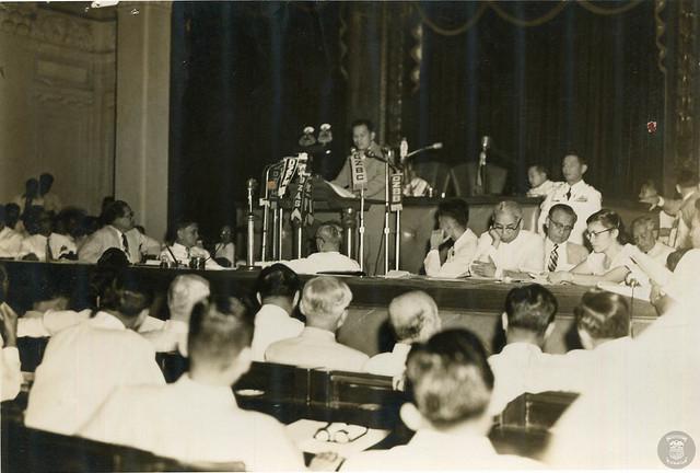 President Magsaysay's First SONA