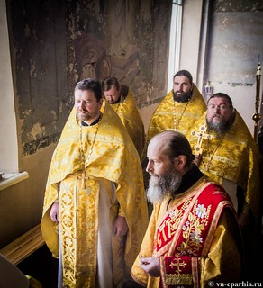Литургия в Ильинском соборе 380