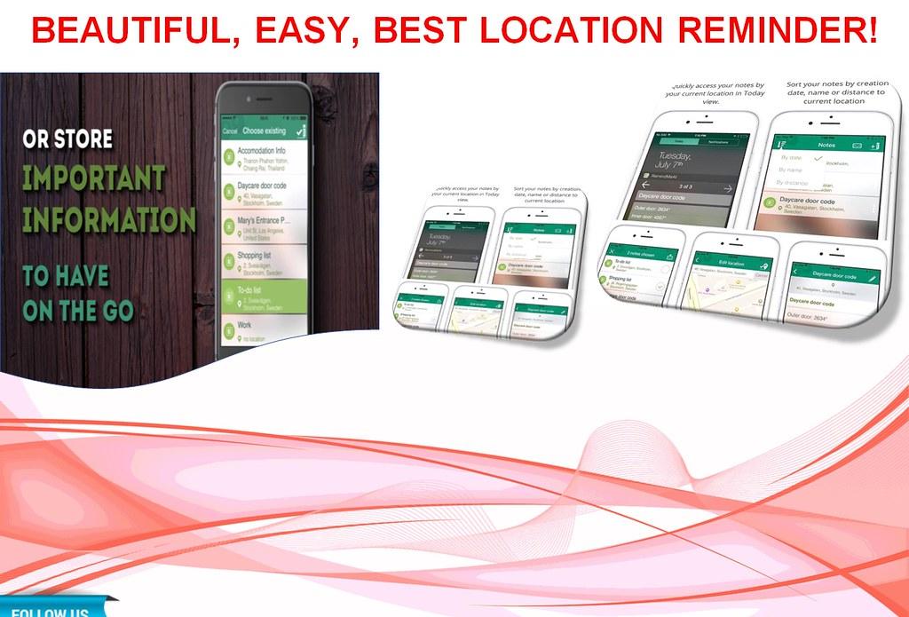 Smart Reminder App for iPhone - RemindMeAt