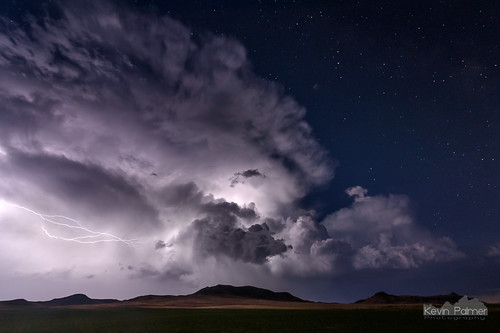 lightning thunder thunderstorm strike bolt sheridan wyoming july summer night sky stars starry cloud weather electric hills tokina1628mmf28 nikond750 dark