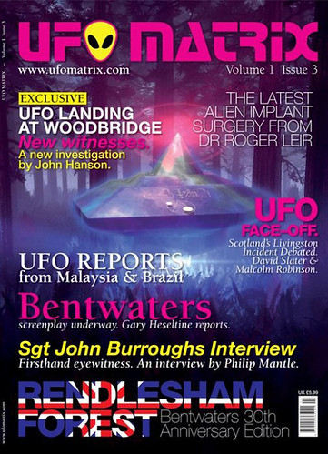 UFO Matrix Magazine Issue 3 | by Green Earth Publishing