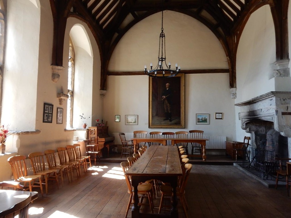 Refectory Cuxton to Halling - College almshouses, Cobham
