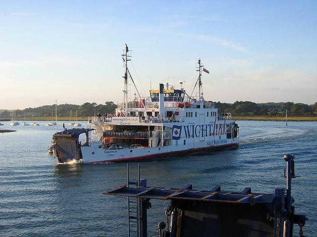 Lymington to Yarmouth Ferry