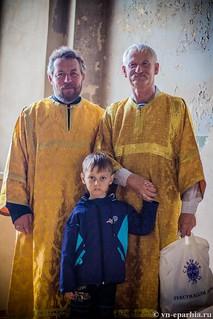 Литургия в Ильинском соборе 730