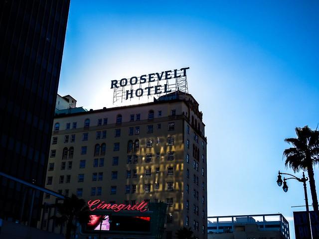 Roosevelt Hotel, Hollywood Los Angeles