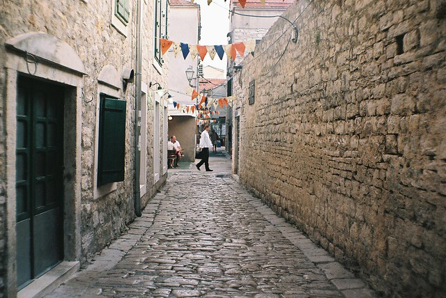 Vodice old town
