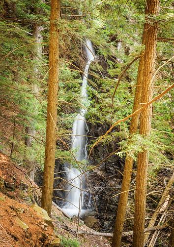 waterfall adirondacks mossycascade