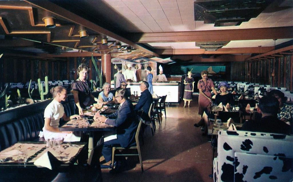 Myrtlewood Bar Indian Room Blackhawk Restaurant Chicago Il
