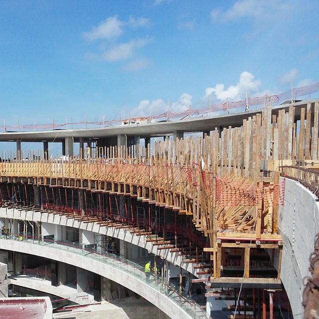 Construccion De Alberca En Azotea De Hotel Playa Del Carm Flickr