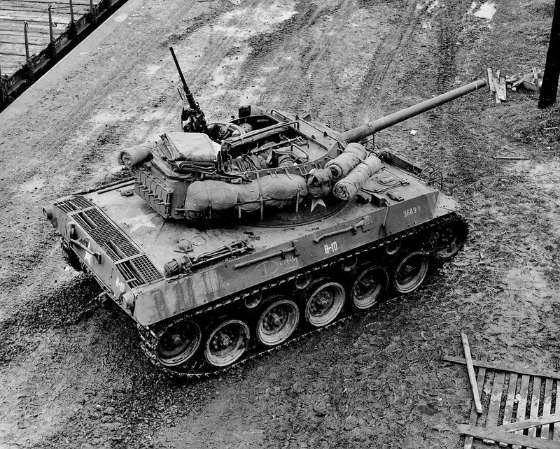 Top shot of an M18 Hellcat