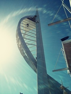 Lunch date with the missus below the Spinnaker Tower | by Hexagoneye Photography