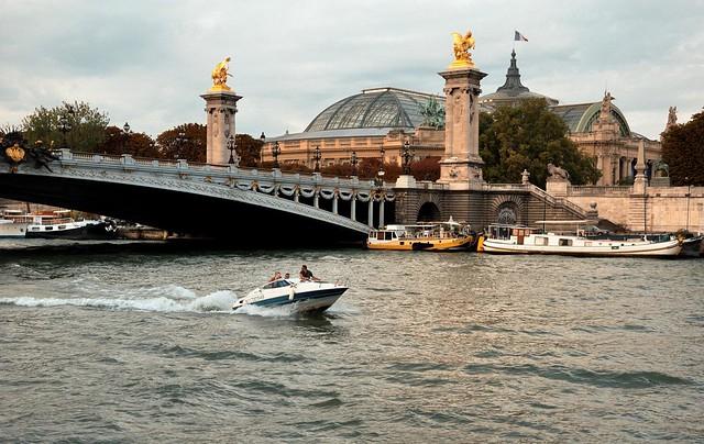 Paris : Pont Alexandre III / Grand Palais