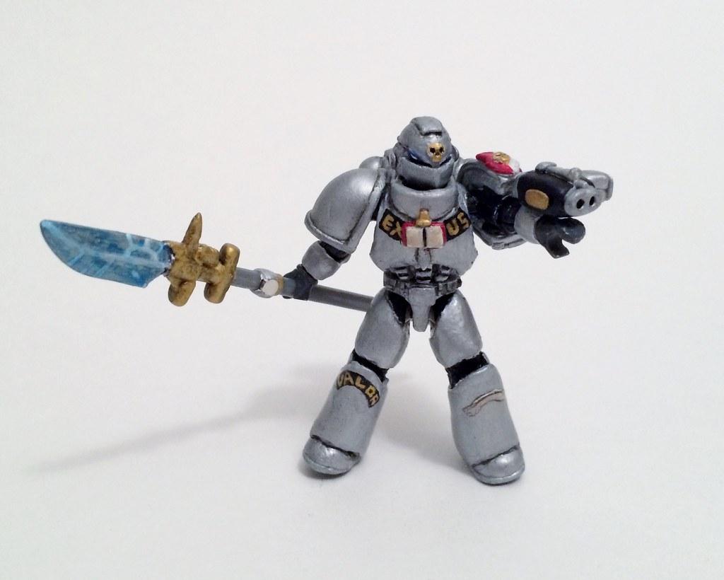 Custom Mega Bloks Warhammer 40k Space Marines | Hey everyone