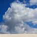 Deserto e nuvole